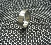 Stainless Steel Cockring Wide Style - Made in the USA