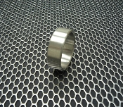 Stainless Steel Cockring Extra Wide Style - Made in the USA