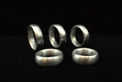 "Excalibur Series Aluminum Cockring ""Donut"""