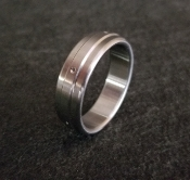 Divet Single Stainless Steel Glans Ring from Ballistic Metal